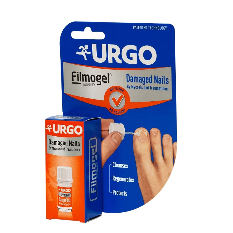 Gel pentru unghii deteriorate Filmogel, 3.3 ml, Urgo