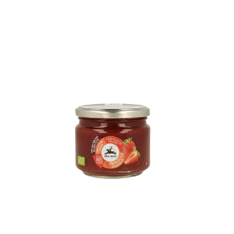 Gem de căpșuni eco, 270 gr, Alce Nero