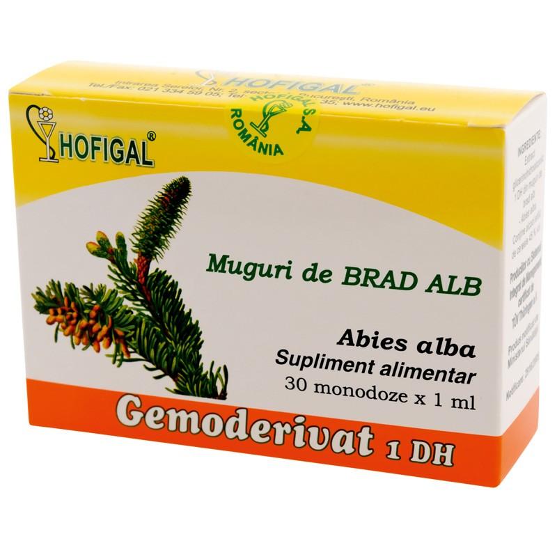 Gemoderivat mladite muguri brad alb, 30 monodoze, Hofigal