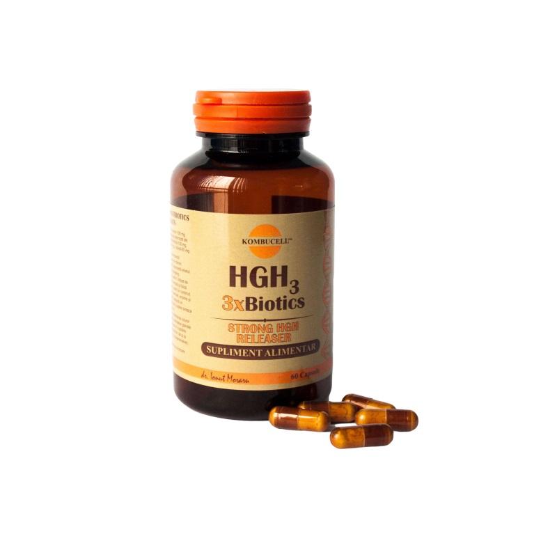HGH3 3x Biotics, 60 capsule, Pro Natura