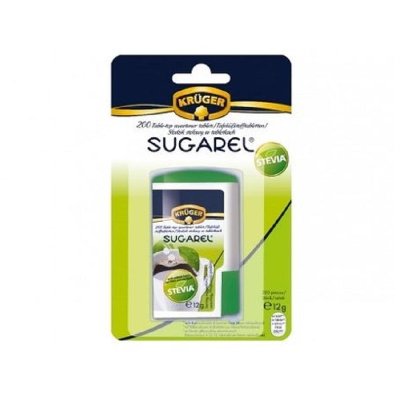 Îndulcitor pe bază de extract de stevie Kruger 60 mg, 200 tablete, Herbal Sana