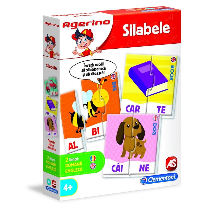 Joc educativ Agerino Silabele, 50051, Clementoni