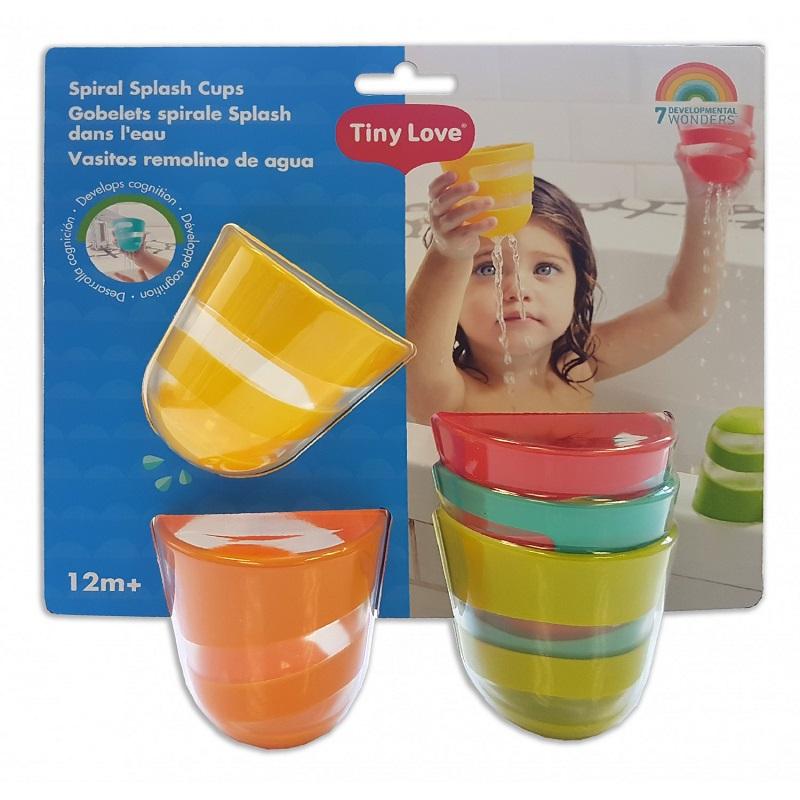 Jucărie de baie Cupa Spirală, 12 luni, TL177, Tiny Love