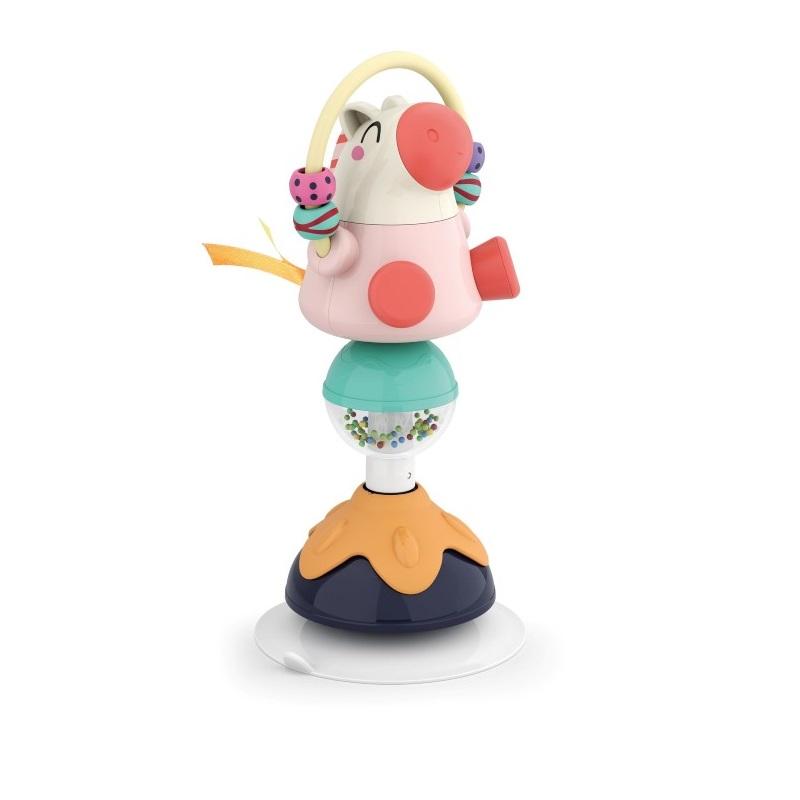 Jucărie pentru bebe cu ventuze, Animaluț, 3150A, Hola