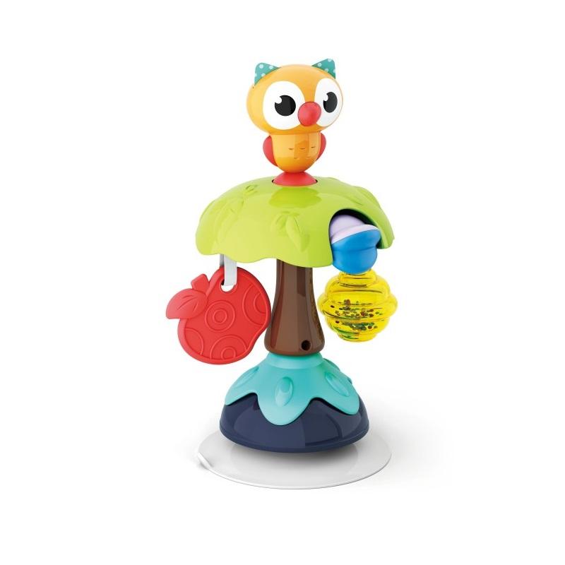 Jucărie pentru bebe cu ventuze, Bufnița, 3150B, Hola