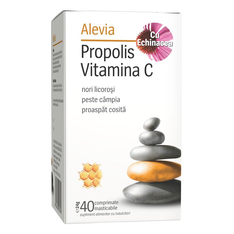 Propolis C Natural 100 mg, 20 comprimate, Fiterman