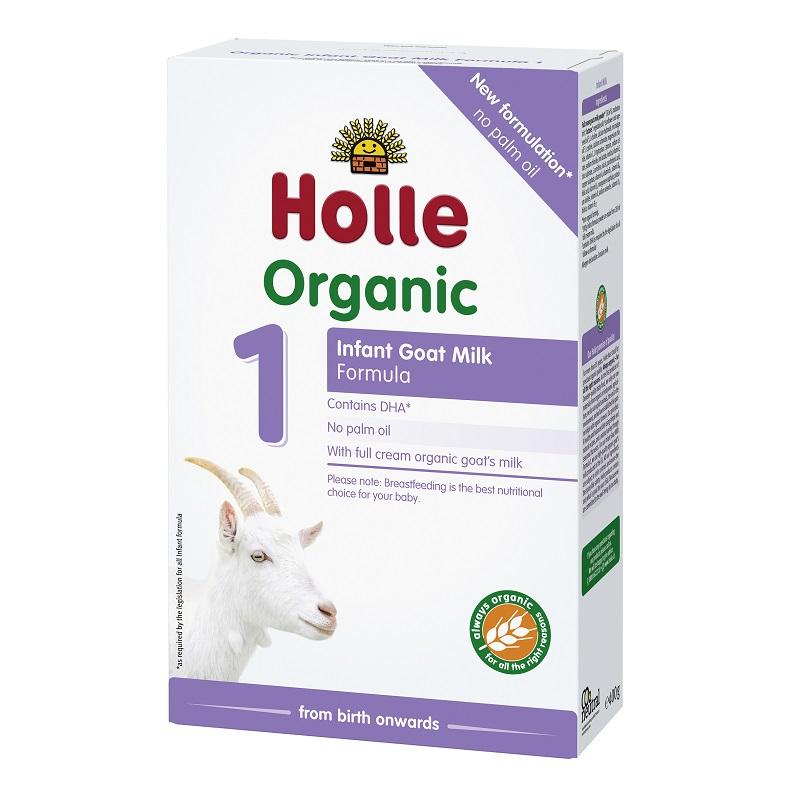 Lapte Organic de Capră Formula 1, +0luni, 400g, Holle Baby Food