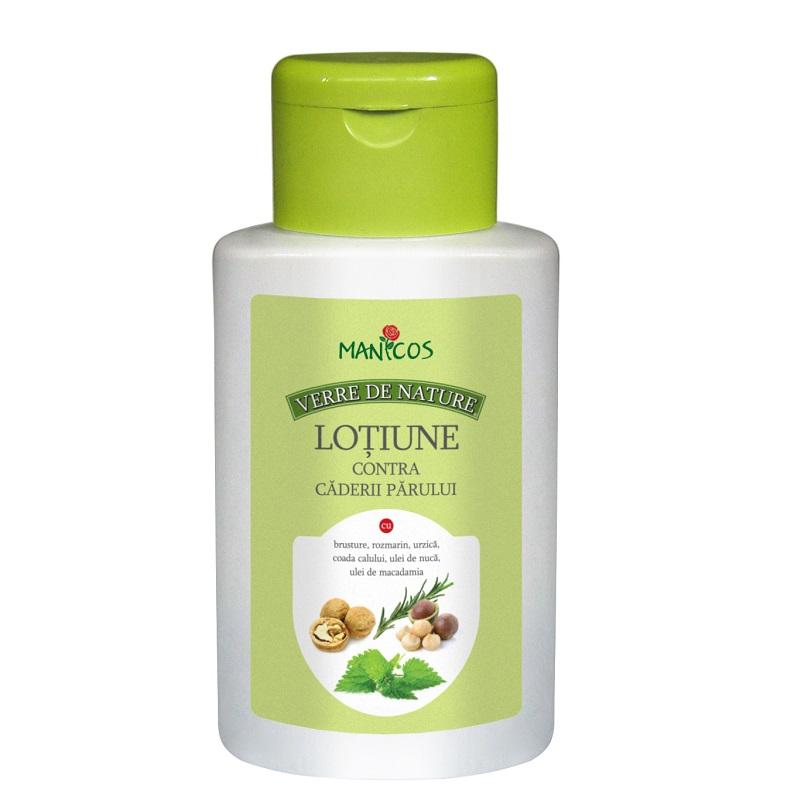 Lotiune contra caderii parului, 200 ml, Verre de Nature