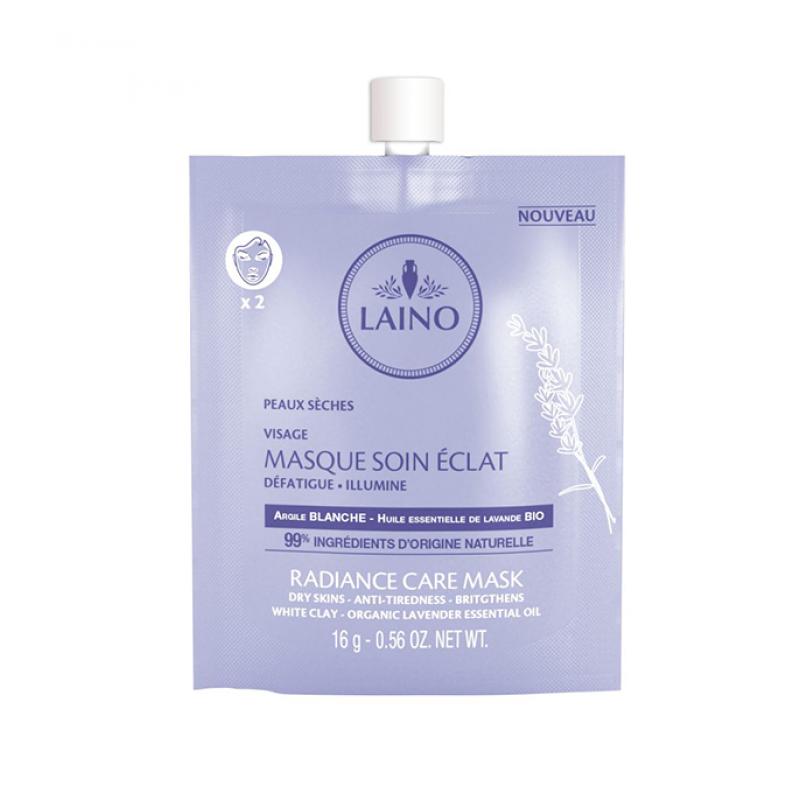 Mască pentru luminozitarea tenului, 16 gr, Laino