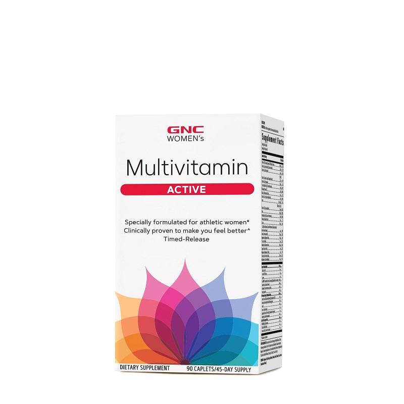 Multivitamine pentru femei active Ultra Mega Women's (202011), 90 tablete, GNC