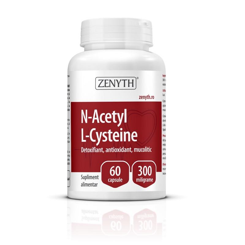 N-Acetyl L-Cysteine, 60 capsule, Zenyth