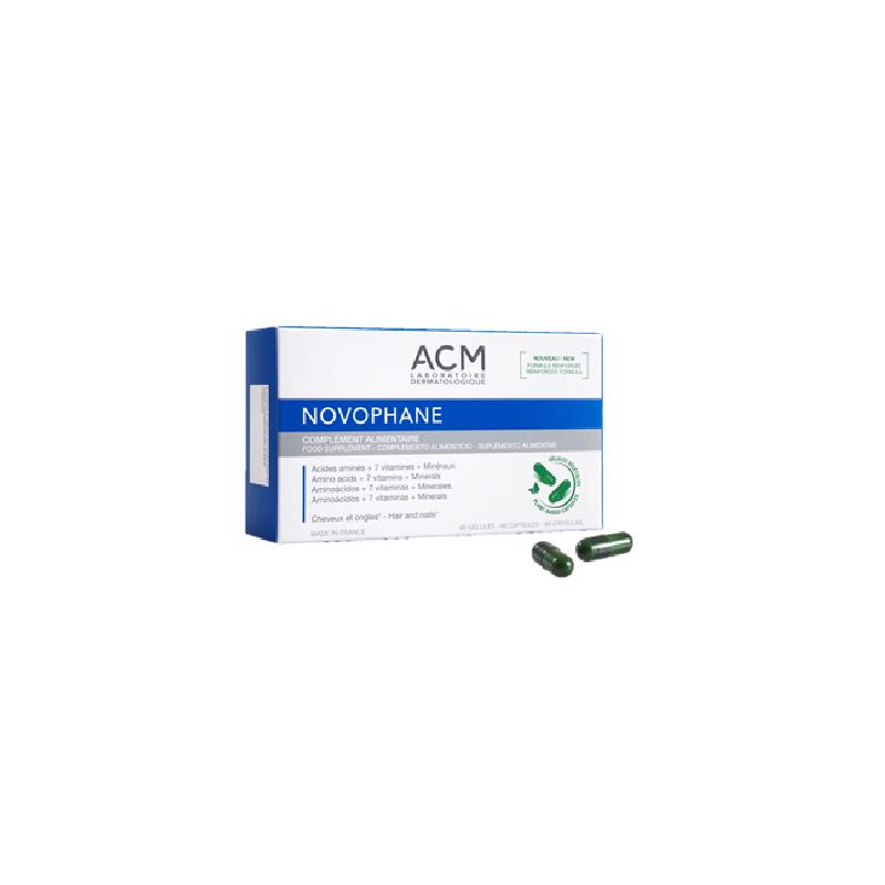 Novophane pentru par si unghii, 60 cps, ACM