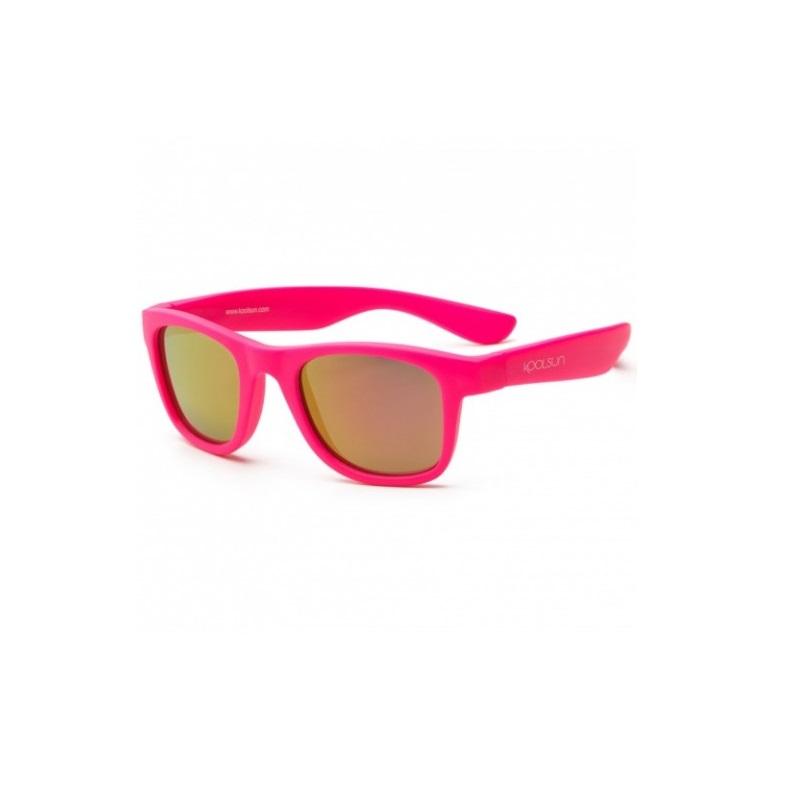 Ochelari de soare pentru copii, Neon Pink, 1-5 ani, Koolsun
