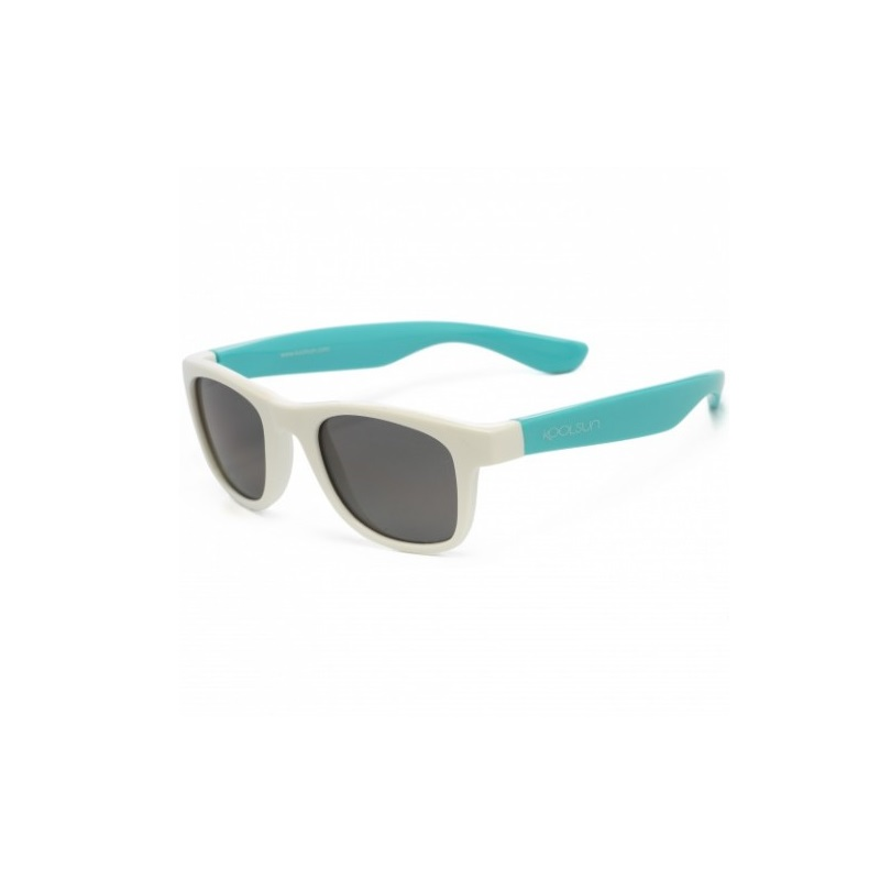 Ochelari de soare pentru copii, White Aquarius, 1-5 ani, Koolsun
