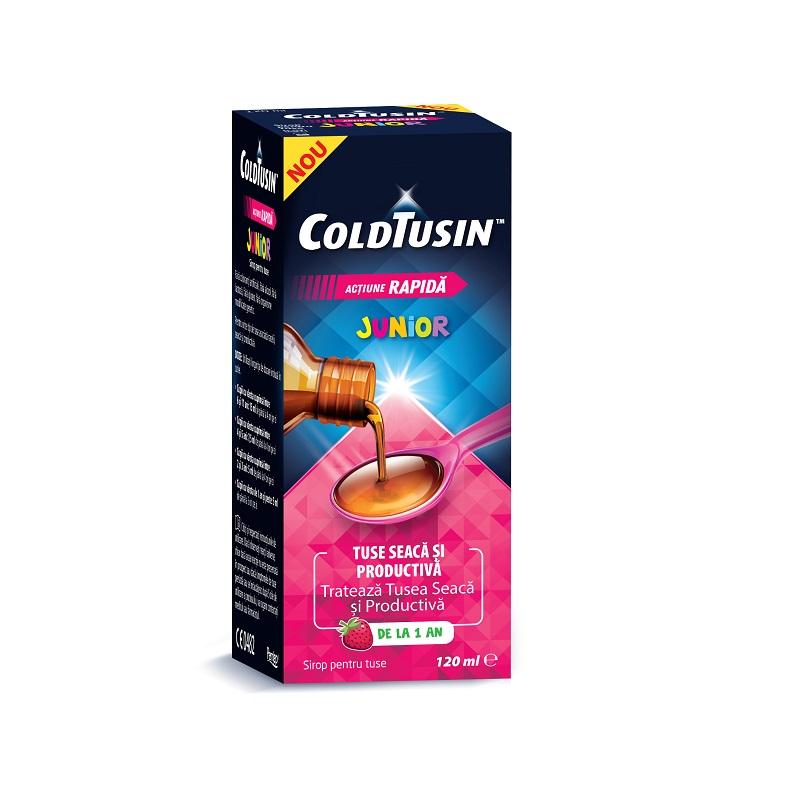 Sirop ColdTusin Junior, 120 ml, Omega Pharma