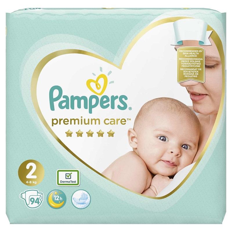 5 Pampers Premium Protection Nappy Pants Size 5 136 Pants 12-17 kg