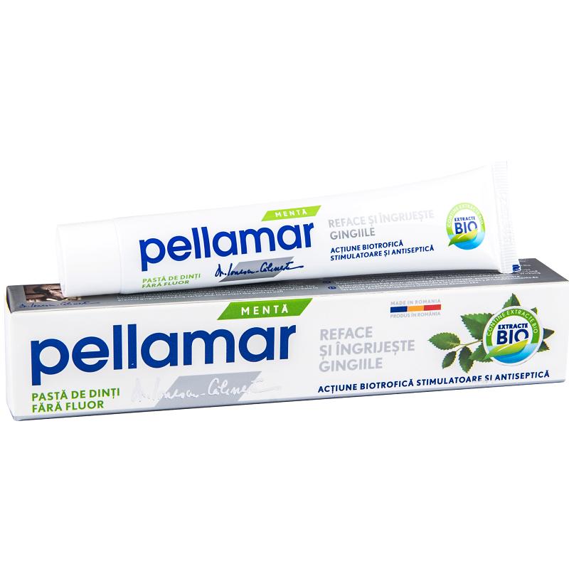 Pasta de dinti cu menta, 50 ml, Pellamar