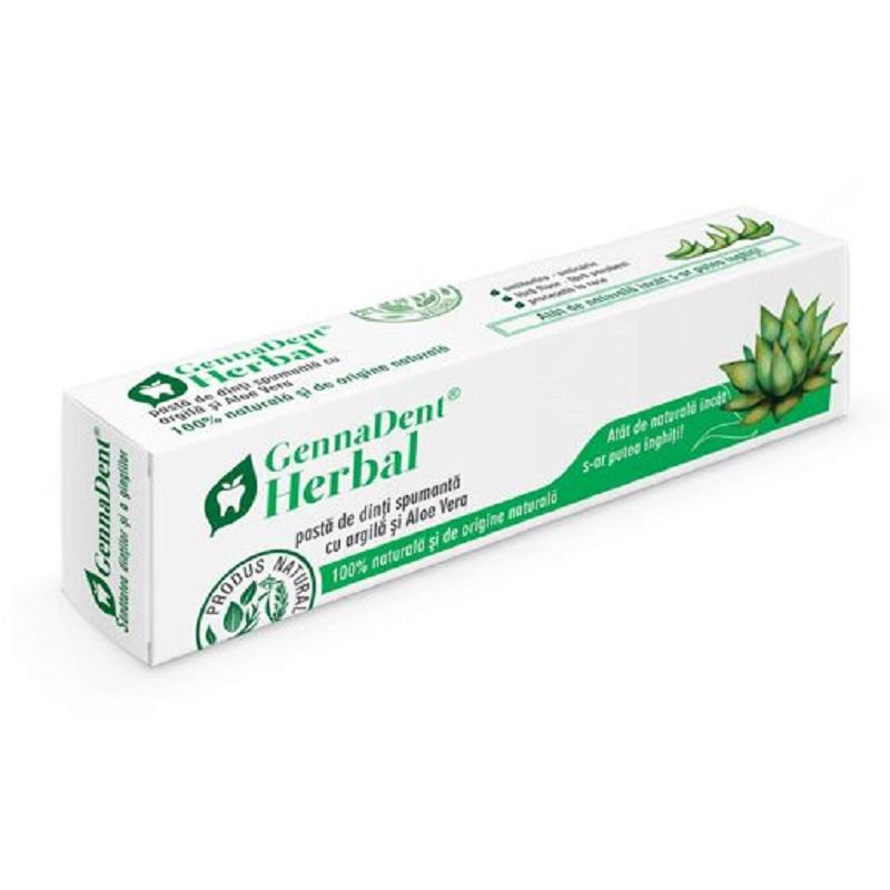 Pastă de dinți Herbal, 80 ml, Vivanatura