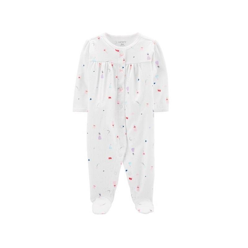 Pijama prințese, 0 luni, 17920310, Carter's