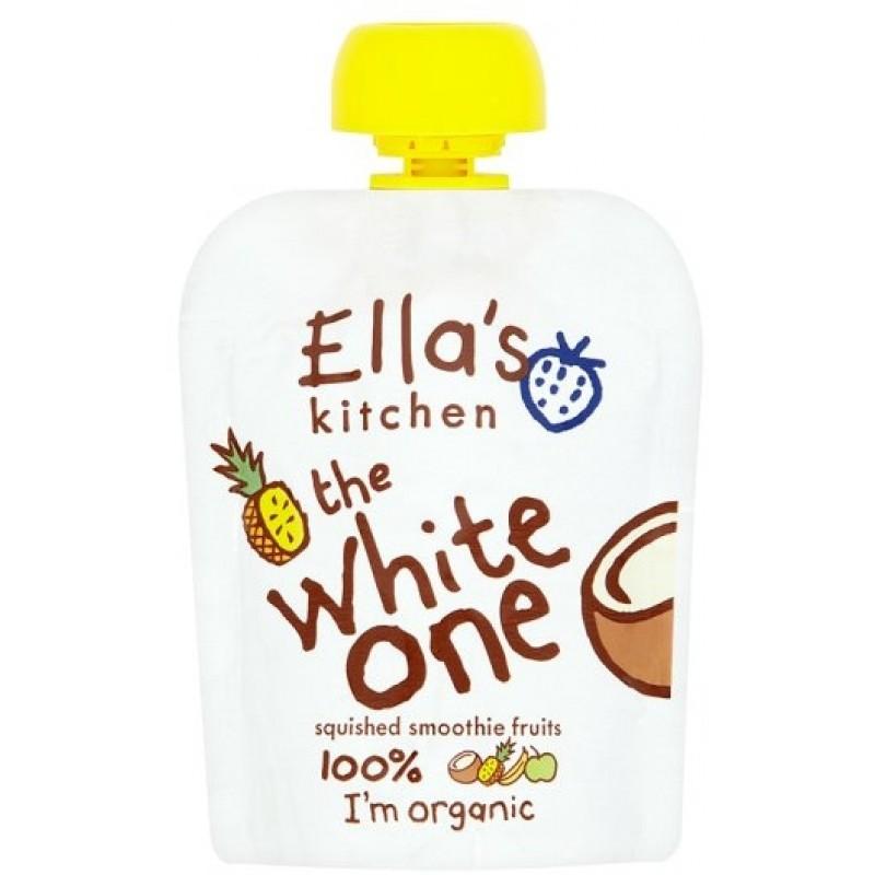 Piure Bio cu cocos si ananas, 90 gr, Ella's Kitchen