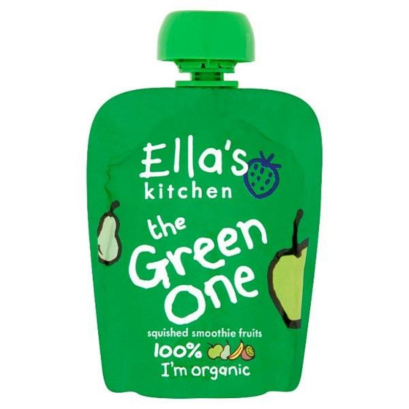 Piure Bio cu kiwi si pere, 90 gr, Ella's Kitchen