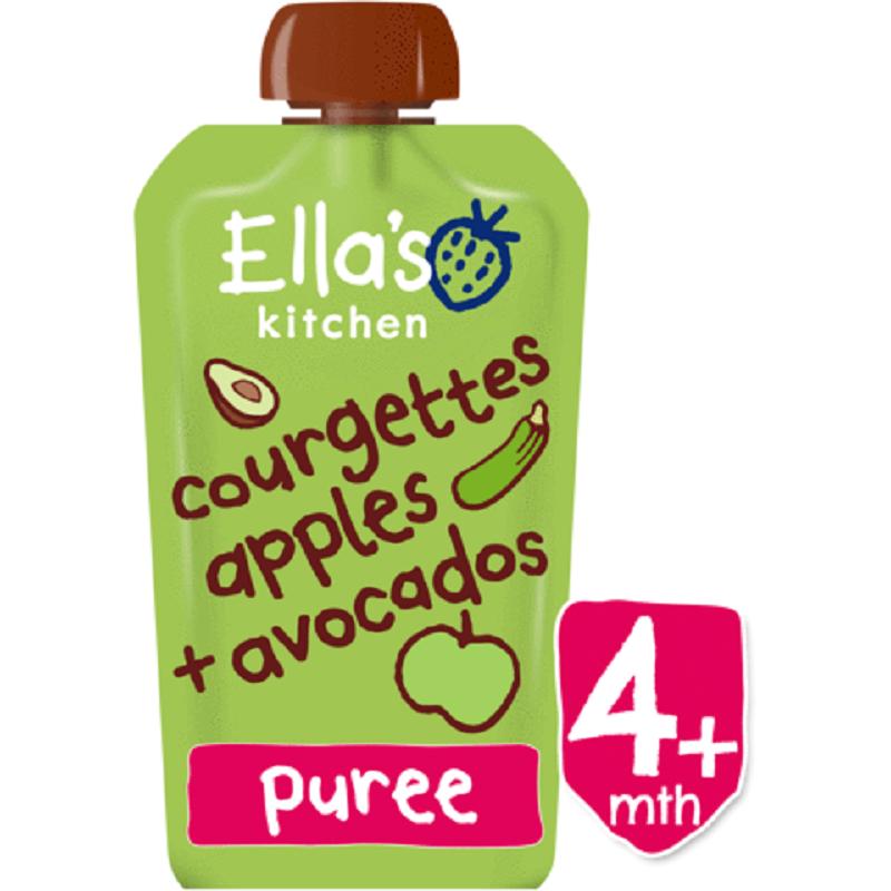 Piure organic de Avocado, 120 g, Elas Kitchen