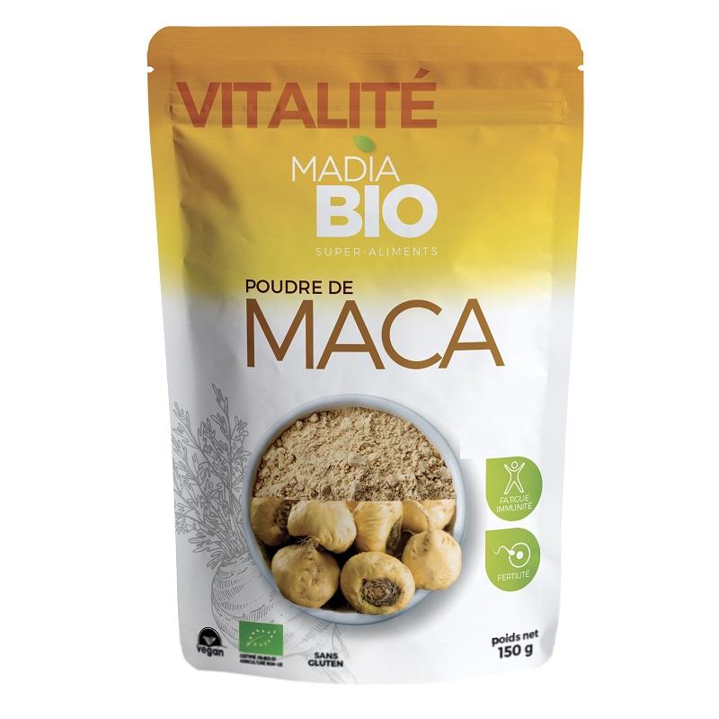 Pulbere de Maca, 150 gr, Madia Bio