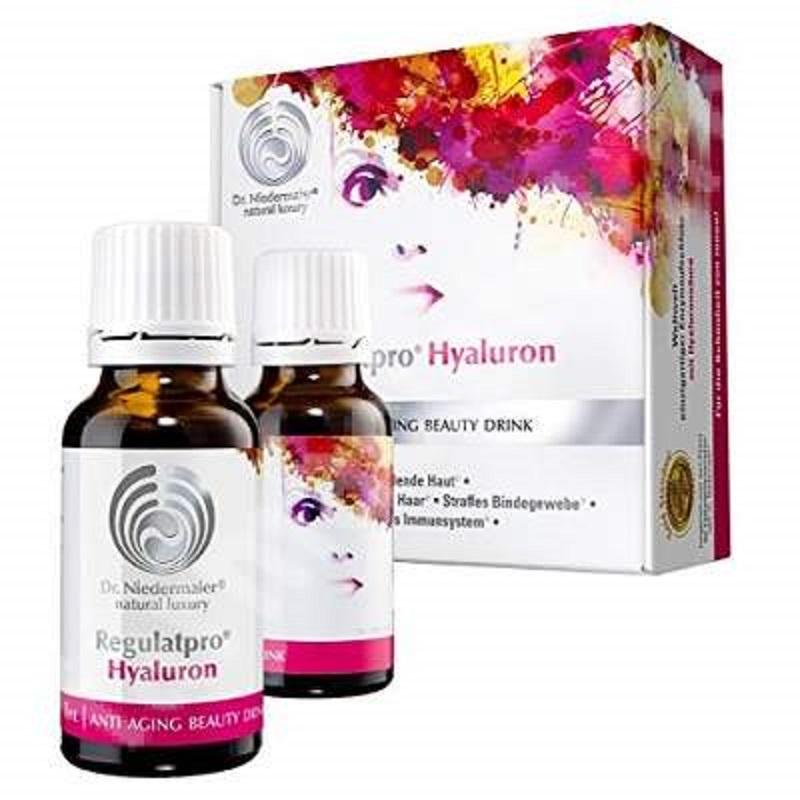 Regulatpro Hyaluron, 20 flacoane, Dr. Niedermaier