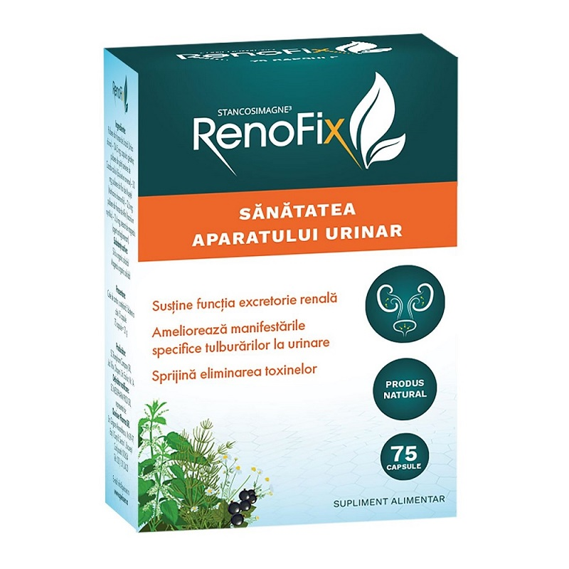 Renofix Stancosimagne, 75 capsule, Queisser Pharm