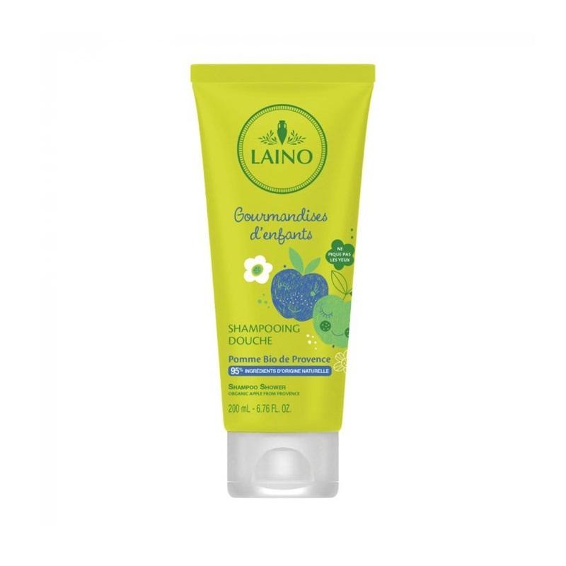 Șampon 3 in 1 pentru copii cu măr bio de Provence, 200 ml, Laino