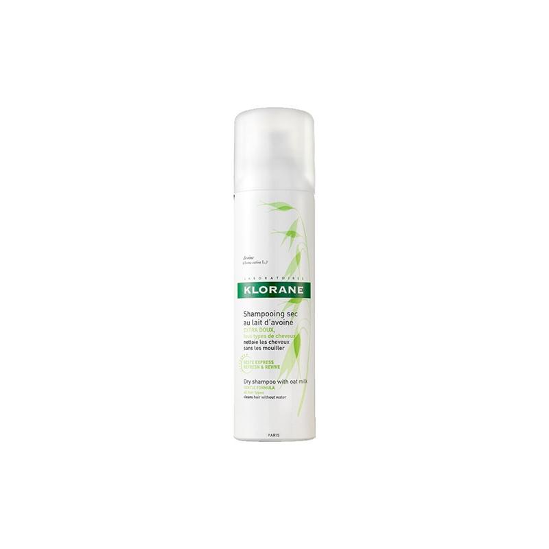 Șampon uscat cu lapte de ovăz, 50 ml, Klorane