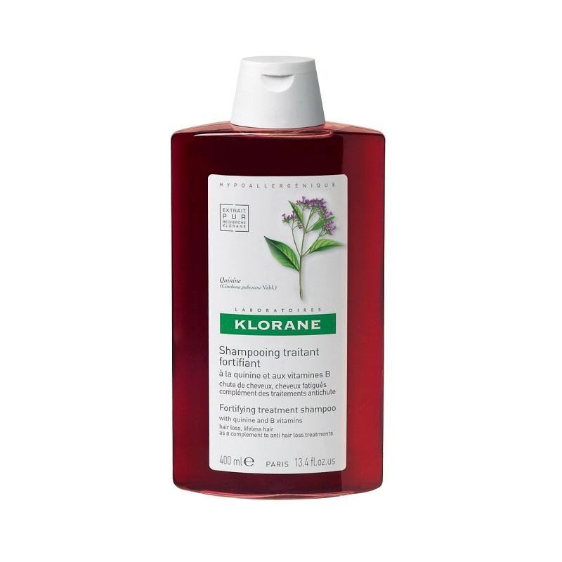 Șampon cu Chinină și complex de vitamine B, 400 ml, Klorane
