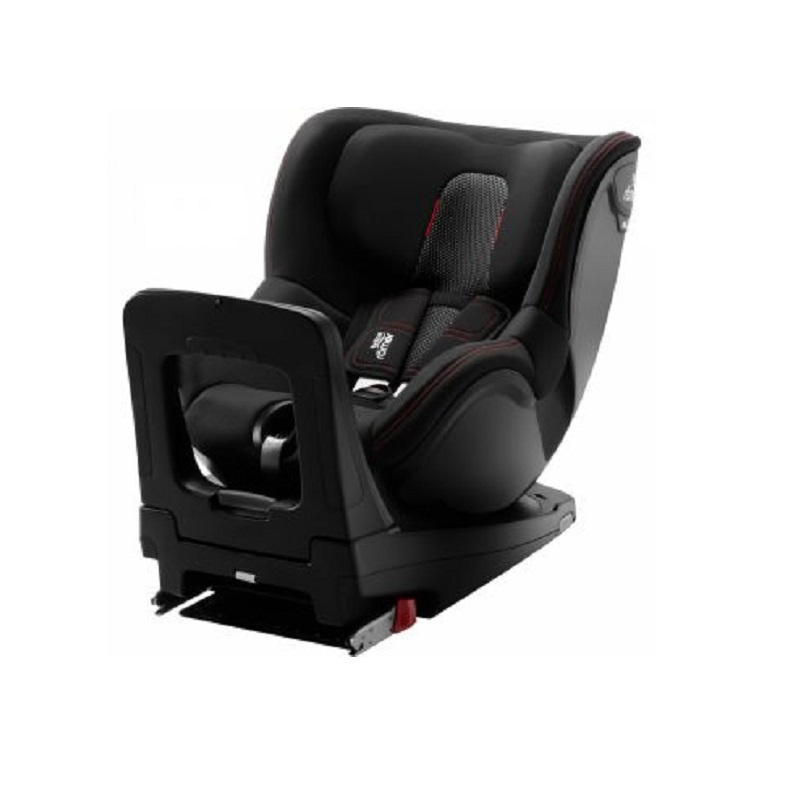 Scaun auto DualFix M I-Size, Cool Flow Black, Britax Romer