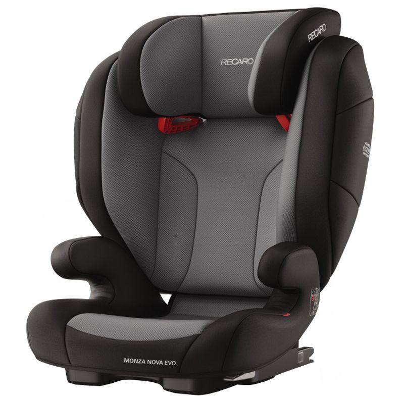 Scaun auto Monza Nova Evo, Seatfix Carbon Black, 15-36kg, Recaro