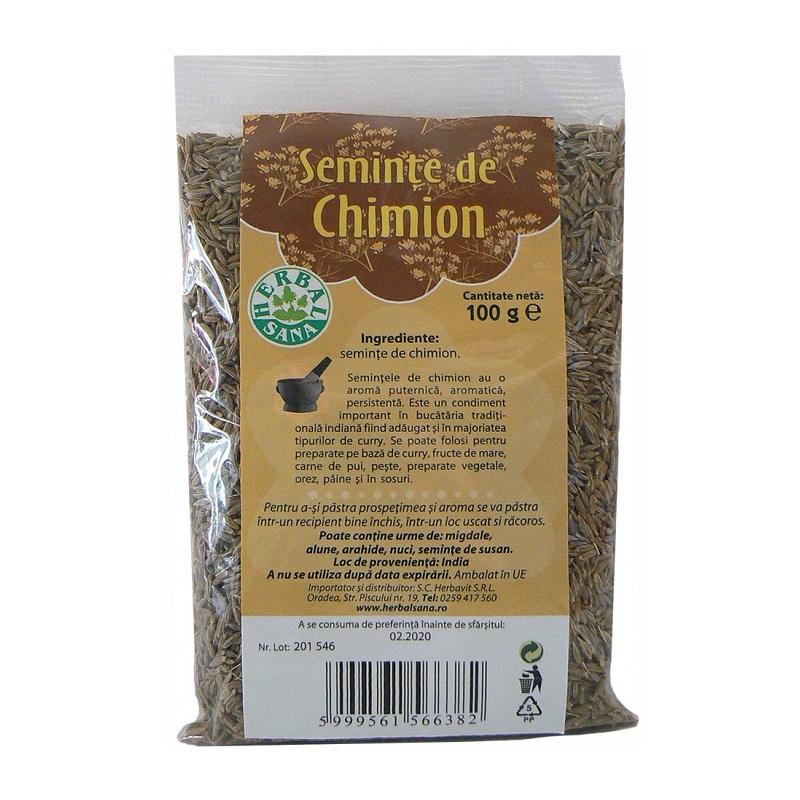Semințe de chimion, 100 g, Herbal Sana