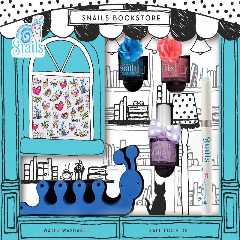 Kit de unghii pentru copii, Lumea cărților, Snails