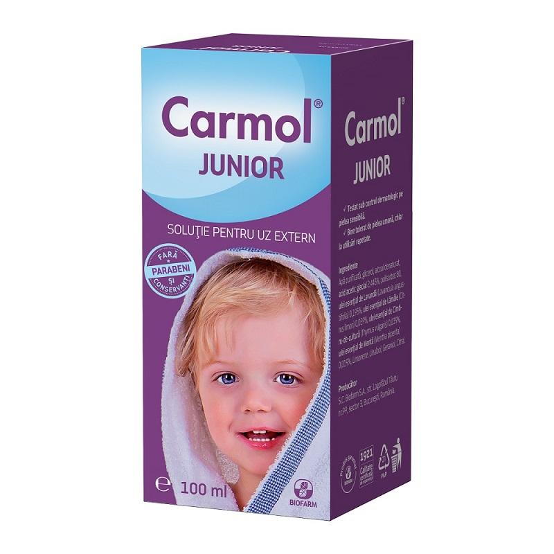 Solutie pentru uz extern Carmol junior, 100 ml, Biofarm