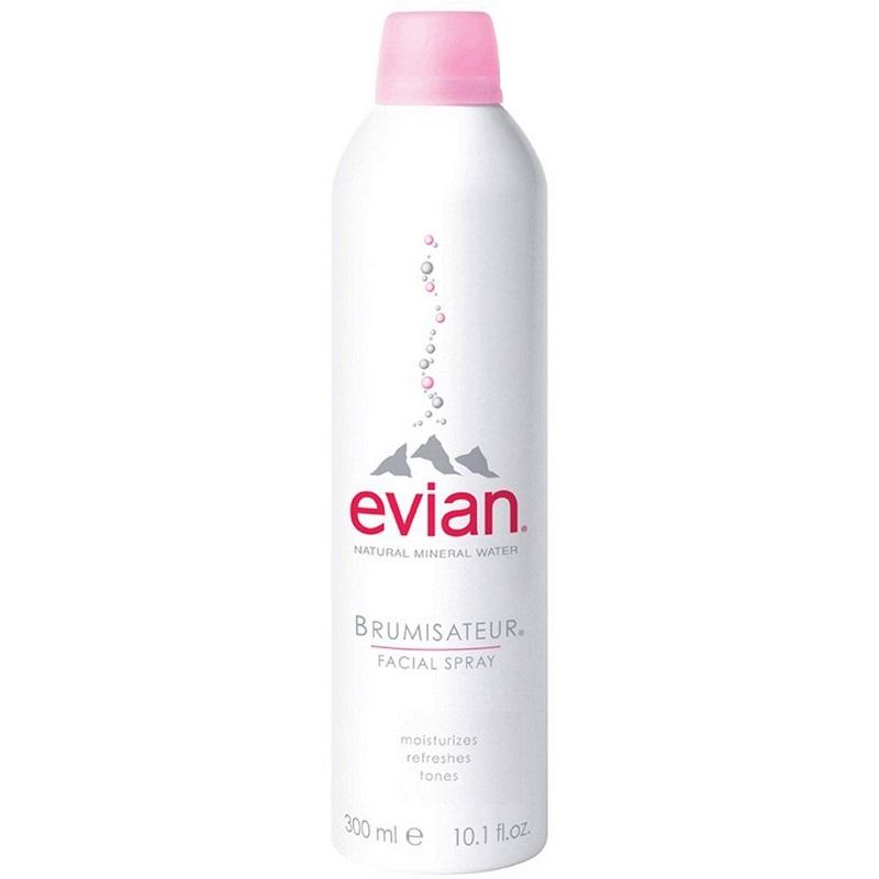 Spray apa minerala naturala Brumisateur facial, 300 ml, Evian