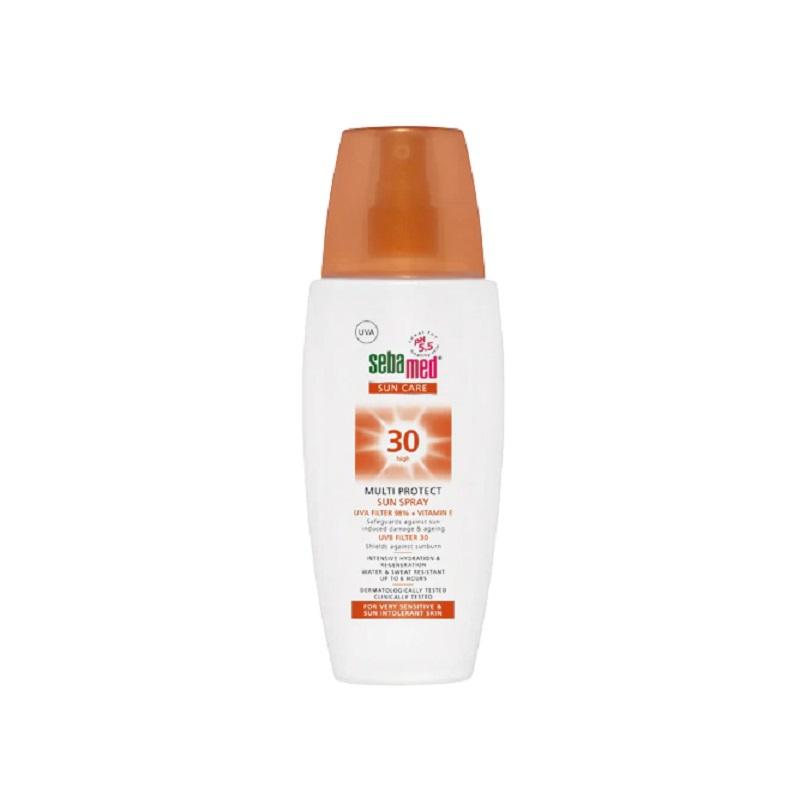 Spray dermatologic pentru protectie solara SPF 30 Sun Care, 150 ml, Sebamed