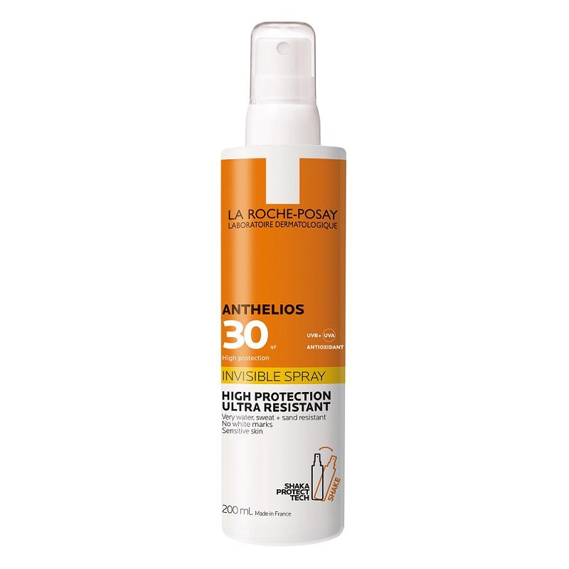 Spray invizibil pentru fata si corp cu SPF 30 Anthelios, 200 ml, La Roche-Posay