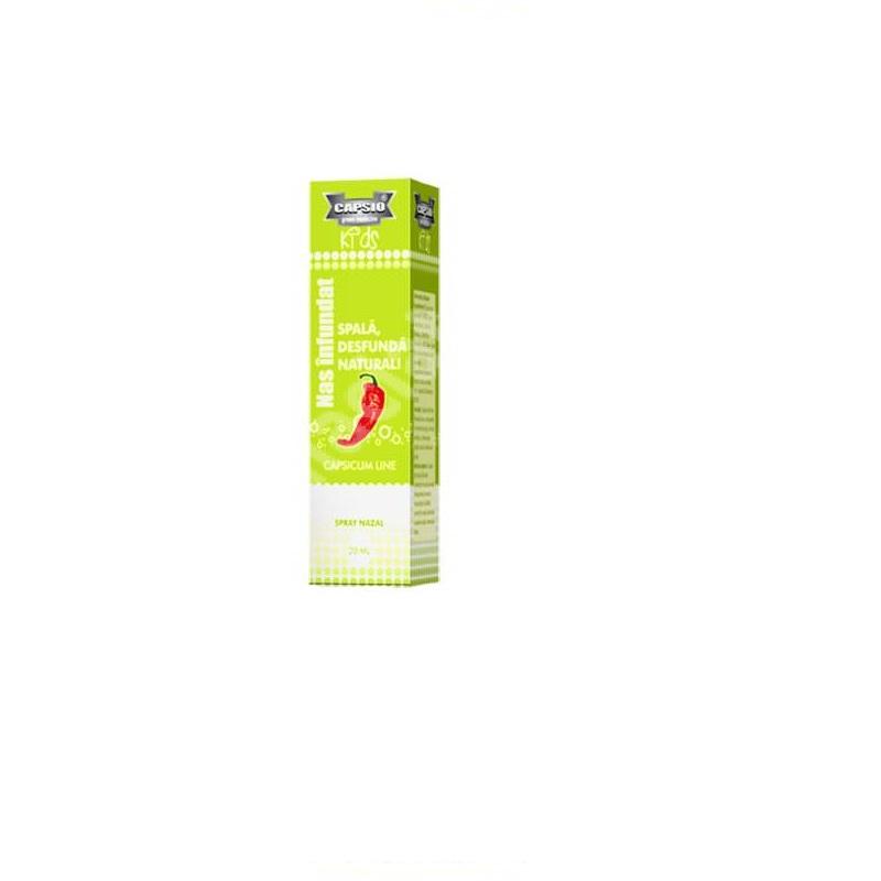 Spray nazal nas infundat Capsio, 20 ml, Global Research
