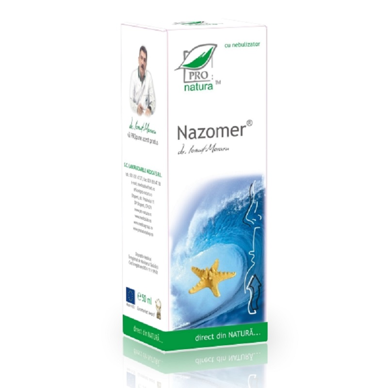 Spray nazal, Nazomer, 50 ml, Pro Natura