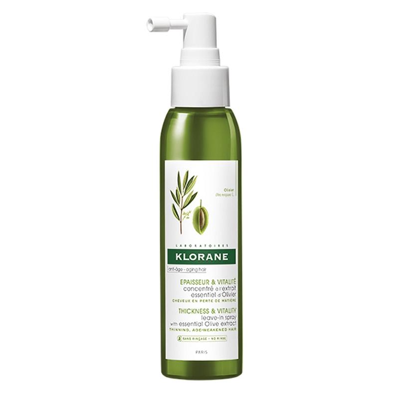 Spray pentru păr cu extract de măslin, 125 ml, Klorane