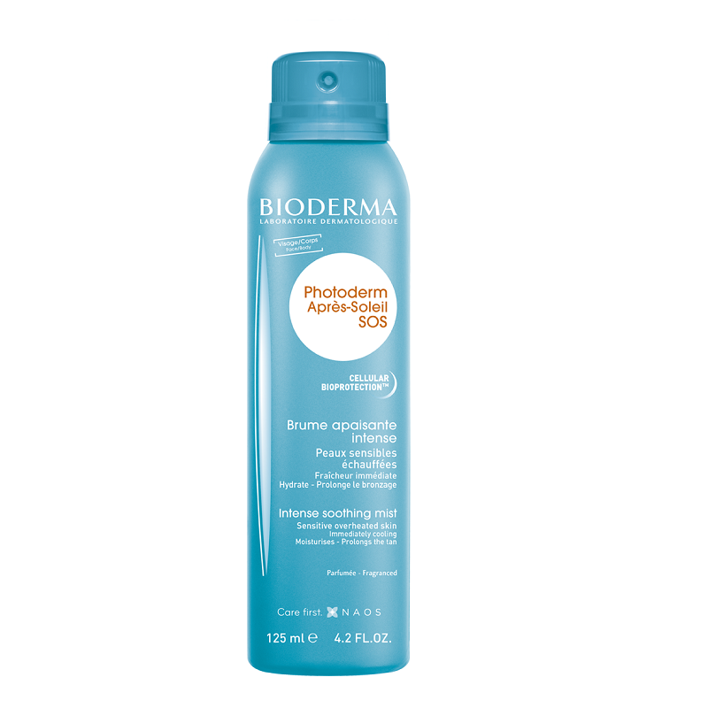 Spray reparator după plaja Photoderm SOS, 125 ml, Bioderma