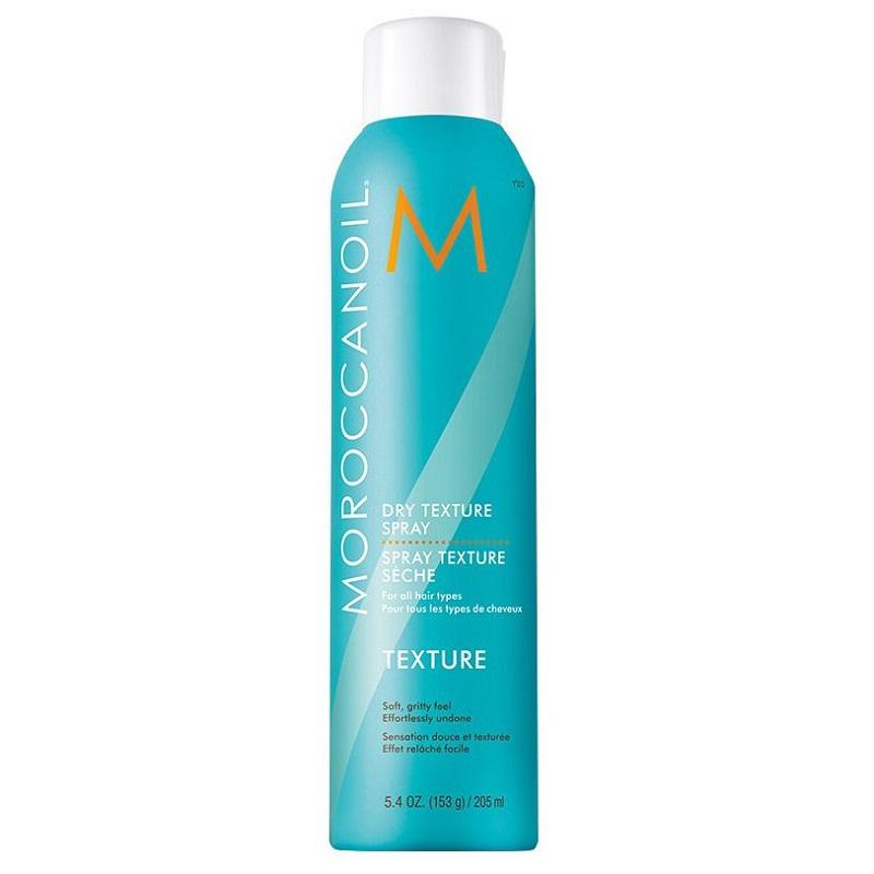 Spray texturizant uscat Dry Texture Spray, 205 ml, Moroccanoil