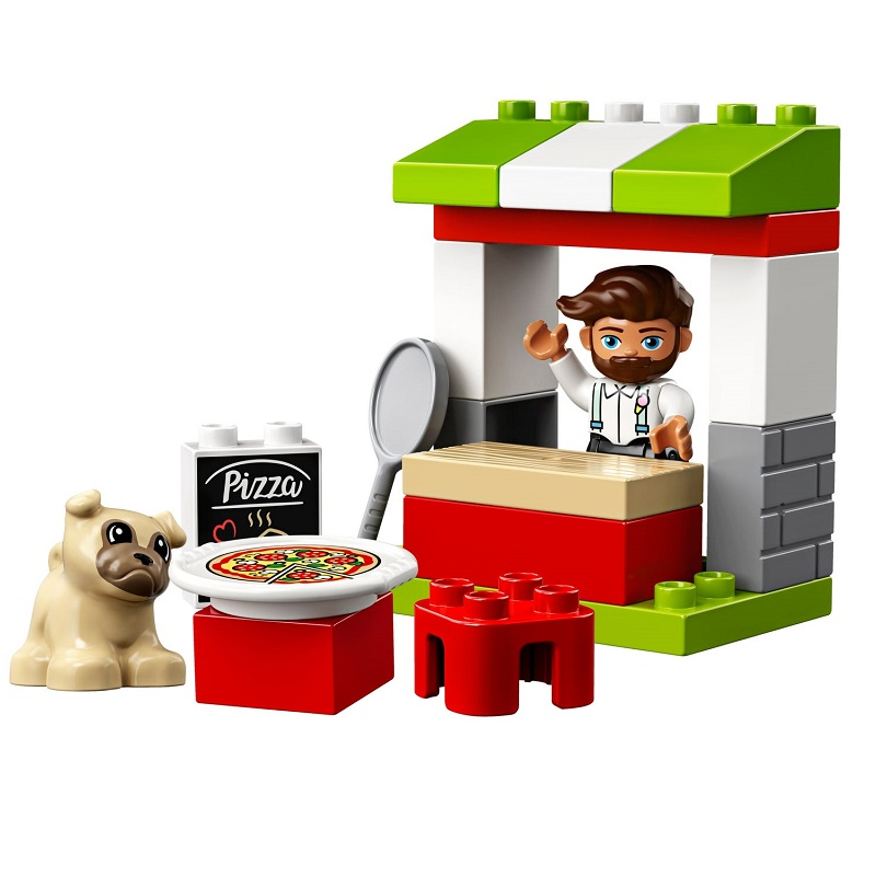 Stand cu pizza, L10927, Lego Duplo