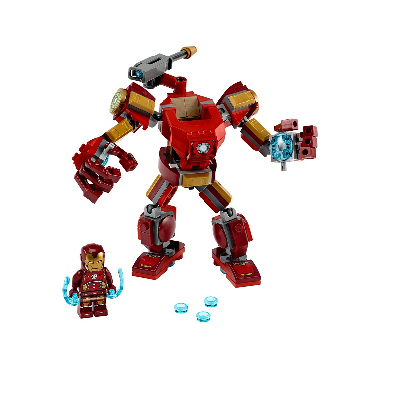 Super Heroes Robot Iron Man, L76140, 6+, Lego Marvel Avengers