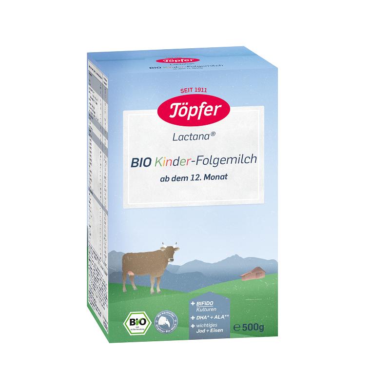 Formula de lapte praf Bio Kinder, +12 luni, 500 gr, Topfer