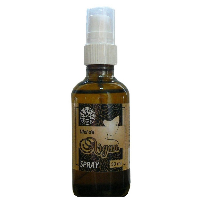 Ulei de argan spray, 50 ml, Herbait
