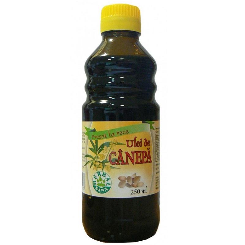 Ulei de cânepă, 250 ml, Herbal Sana